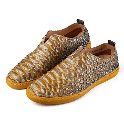 Casual Snakeskin Shoes, Python Shoes for Men