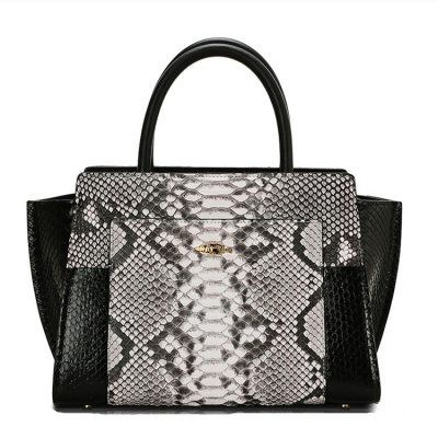 Elegant Python Handbag, Snakeskin Crossbody Bag, Shoulder Bag