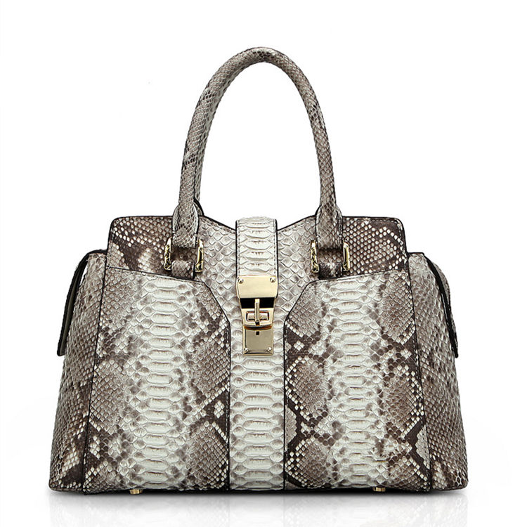 Genuine Python skin Handbag, Ladies Python skin Handbag