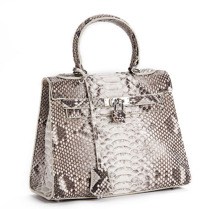 Genuine Snakeskin Handbag, Shoulder Bag, Crossbody Bag for Women-1