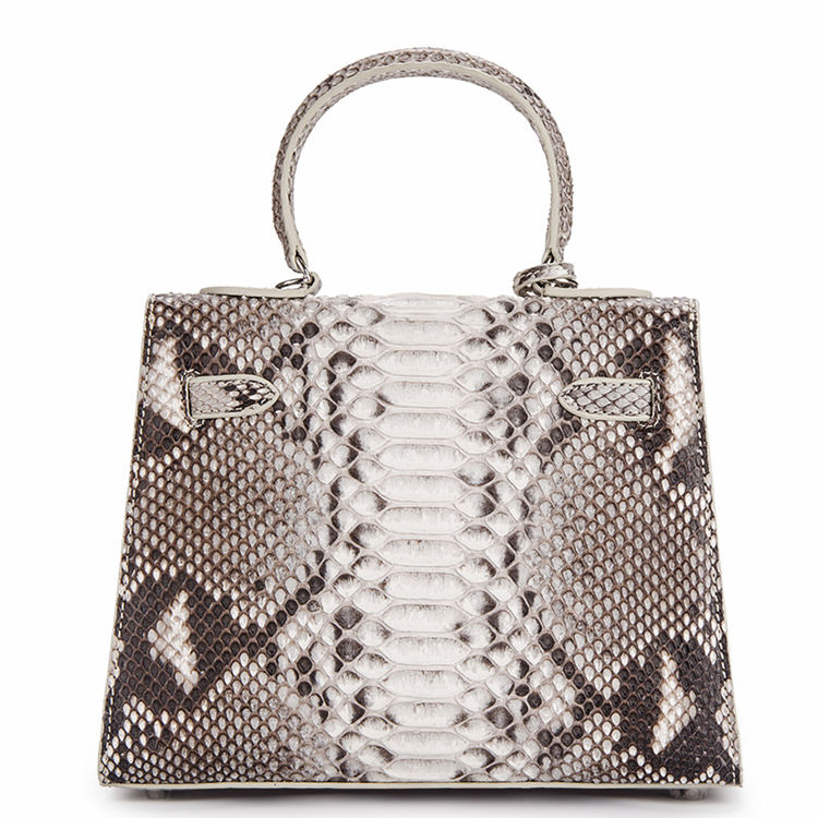Genuine Snakeskin Handbag, Shoulder Bag, Crossbody Bag for Women-Back