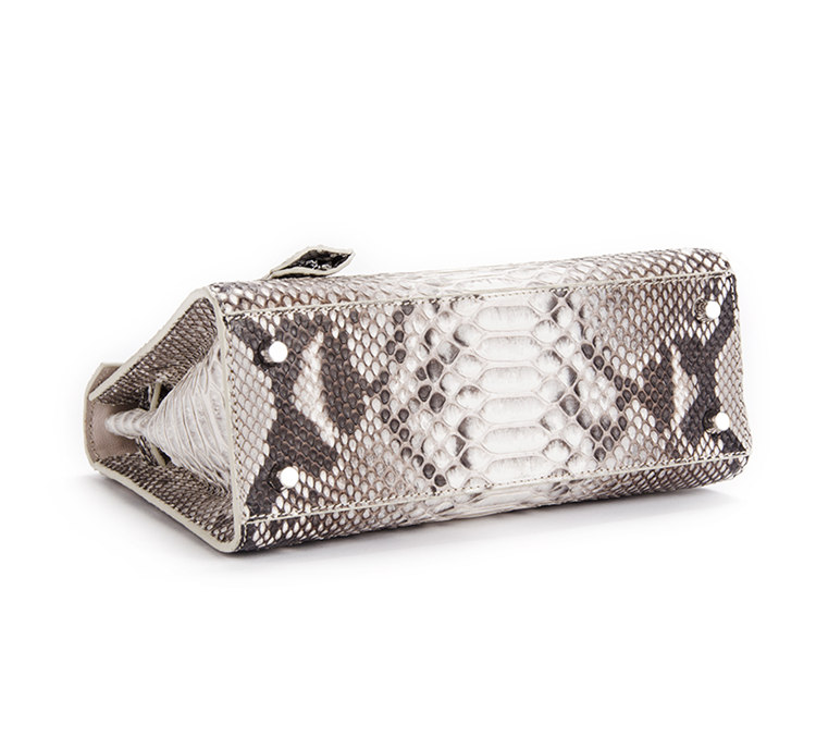 Genuine Snakeskin Handbag, Shoulder Bag, Crossbody Bag for Women-Bottom