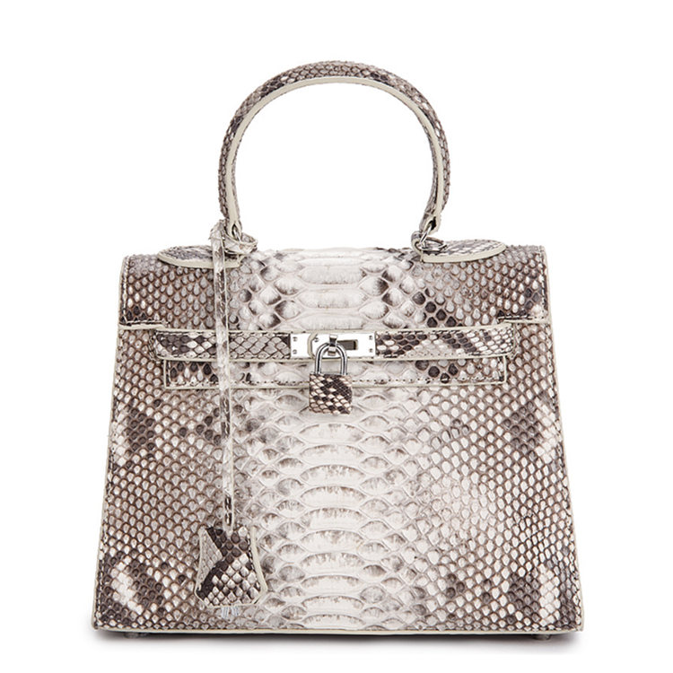 Genuine Snakeskin Handbag, Shoulder Bag, Crossbody Bag for Women