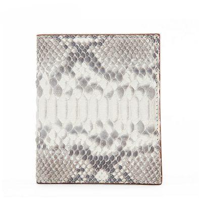 Mens Snakeskin Bifold Wallet, Python Skin Wallet