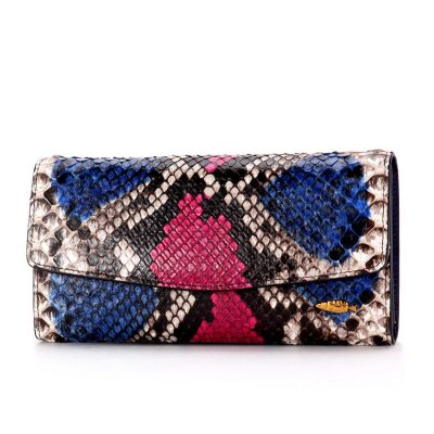 Snakeskin Purse, Python Skin Clutch Bag