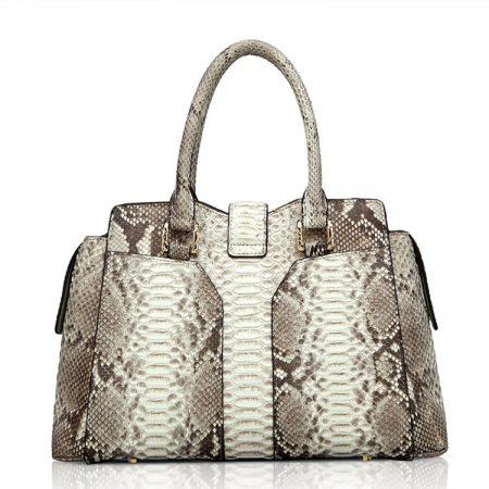 Genuine Python skin Handbag, Ladies Python skin Handbag-Back