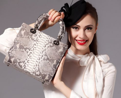 Genuine Snakeskin Handbags for Women