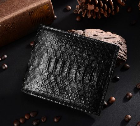 Snakeskin Bifold Wallets, Python Wallets-1