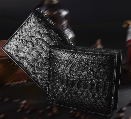 Snakeskin Bifold Wallets, Python Wallets
