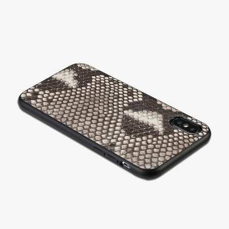 Snakeskin iPhone X Cover Case-Full Soft TPU Edges
