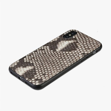 Snakeskin iPhone X Cover-Full Soft TPU Edges