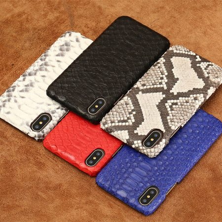 Snakeskin iPhone x Cases, Python Skin Snap-on Cases for iPhone X